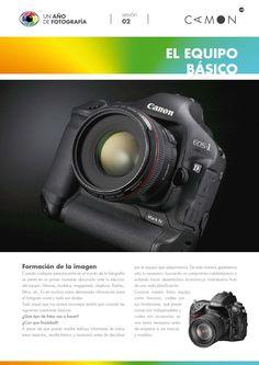 Los Pdfs agrupaddos del curso de fotografía presencial y online que impartio en la CAMON  Jose Benito Ruiz.
