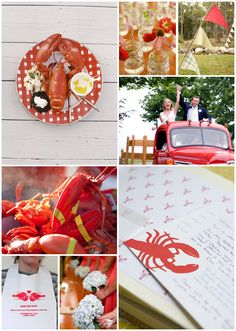 Inspiration Board: Lobster Bake