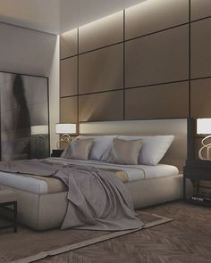Amazing Bedroom Design Ideas [Simple, Modern, Minimalist, Etc] BEDROOM DESIGN IDEAS - Find your favorite bedroom photos here. Browse through images of inspiring bedroom design ideas to create your perfect home. Modern Master Bedroom, Modern Bedroom Furniture, Master Bedroom Design, Contemporary Bedroom, Home Bedroom, Luxury Furniture, Bedroom Decor, Modern Bedrooms, Bedroom Ideas