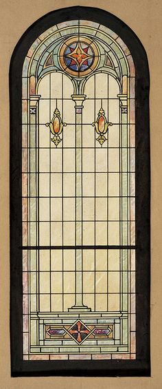 Stained Glass Window Design | by katesowada - Stained Glass Window Designs from Blum Ornamental Glass Co. in Louisville, KY colors!