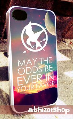 Hunger Games quote iPhone 4/4s/5/5c/5s Case by abhizotShop, $13.55