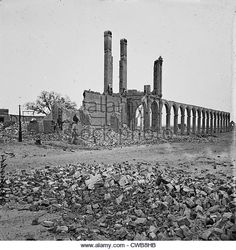 Ruins of Railroad Depot Historical Romance, Historical Fiction, Military Store, Charleston South Carolina, American Civil War, Worlds Largest, Monument Valley, New York Skyline, History