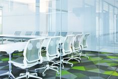NVIDIA: World Leader in Visual Computing Technologies. Office spaces in Finland with Free Scale tiles by Vorwerk. Carpet Tiles, World Leaders, White Furniture, Office Interiors, Game Room, Flooring, Chair, Meeting Rooms, Office Spaces