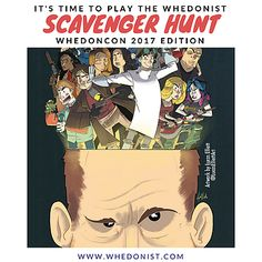 WhedonCon 2017 Scavenger Hunt  Head on over to the blog for full details!  #whedonverse #whedonist #joss #whedon #scavenger #hunt