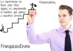 Frase de emprendimiento del día.  #EmprendeHoy #Experiencia
