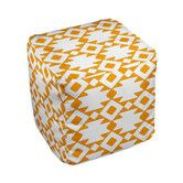 Found it at Wayfair - Geometric Pouf Ottoman