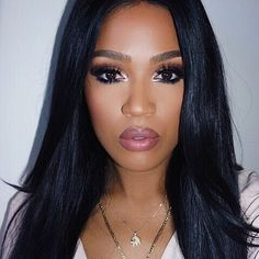 Image via We Heart It #eyeshadow #gorgeous #hair #lipstick #makeup #perfect #yass