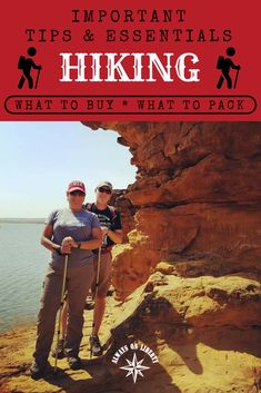 Grab your Camelback or backpack and your trekking poles and let's go hiking! But first, you need to read these important tips and essentials for hiking and hikers. From how to fit hiking boots and backpacks to what kind of essentials go into your daypack. #rvlife #nationalparks #stateparks #trails #daypack