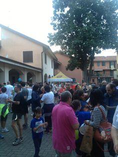 Cinque mulini a San Vittore Olona.. tutti volevano partire carichi.. e allora sosta da 101CAFFE'