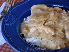 Chicken and Dumplings {Slow Cooker}