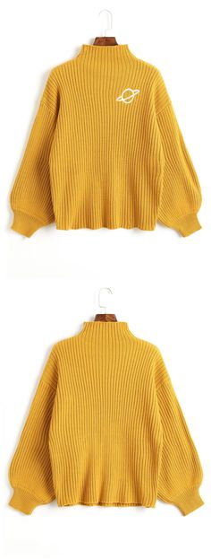 Up to 80% OFF! Mock Neck Planet Embroidered Sweater. #Zaful #sweater Zaful, zaful outfits, fashion, style, tops, outfits, blouses, sweatshirts, hoodies, cardigan, turtleneck,cashmere,cashmere sweater sweater, cute sweater, floral sweater, cropped hoodies, pearl sweater, knitwear, fall, winter, winter outfits, winter fashion, fall fashion, fall outfits, Christmas, ugly, ugly Christmas, Thanksgiving, gift, Christmas hoodies, New Year Eve, New Year 2017. @zaful Extra 10% OFF Code:ZF2017