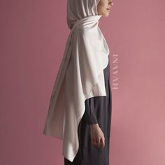 Lightweight and breathable hijabs; perfect for Summer styling Nude Peach Skin #Hijab www.inayah.co