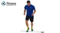 Jumping Rope Workout - 18 Minute Cardio Interval Workout  1 hetet bírok work out nélkül.