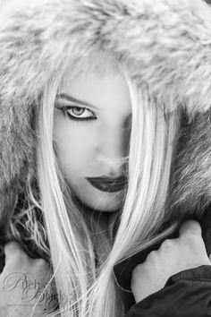 Agate in the Snow. Photography: Mark Crislip. Technical & Creative Assistance: Lupe Jelena and Mareks Steins. Model: Agate Muzikante. Makeup, Hair & Styling: Olga Ukolova. Shot on Location in Riga, Latvia. www.markcrislip.com @pitchblackpolo