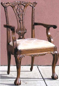 Chair Chippendale Carver