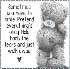 ♥ Tatty Teddy ♥ Sometimes. Tatty Teddy, Teddy Bear Quotes, Teddy Bear Pictures, Bear Pics, Blue Nose Friends, Love Bear, Cute Teddy Bears, Cute Images, Cute Quotes