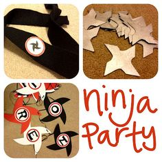 Ninja Birthday Party