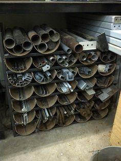 Image result for scrap steel storage