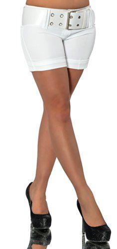 G485 Damen Hose Stoffhose Business Hot Pants Shorts Panty Classic mit Gürtel, Farben:Weiß;Größen:34 (Etikett 36) Diva-Jeans http://www.amazon.de/dp/B00KTJZ8U4/ref=cm_sw_r_pi_dp_Acvvub036EBNQ