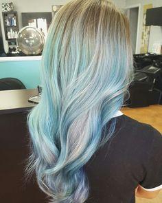 Mermaid hair #mermaidblue #mermaidhair blue hair