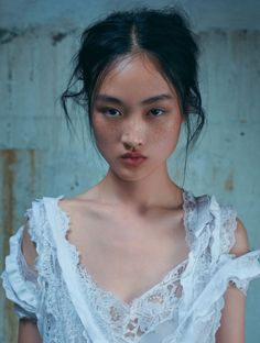 Jing Wen photographed by Stefan Khoo for L'Officiel Malaysia February 2016   Fashion Editor: Monica Mong Hair: Yoshitaka Miyazaki Makeup: Kentaro Kondo