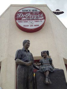Dublin Dr. Pepper, Dublin, Texas Travel blog #MrsPadilly