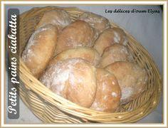Petits pains Ciabatta tout moelleux