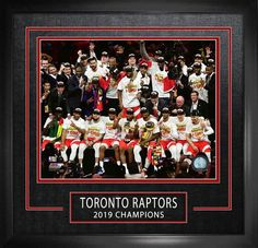 Frameworth Sports Toronto Raptors 2019 Nba Finals Laser Engraved Memorabilia Collector Frame L One Championship, Nba Championships, Champions L, Basketball History, Nba Store, Toronto Raptors, Team Photos, Laser Engraving, A Team