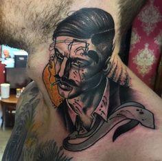 Neil Dransfield, tattoo artist