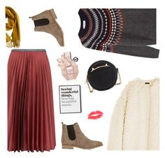 Happy Thanksgiving! by freddarling on Polyvore featuring polyvore fashion style Closed J.Crew Leur Logette Barneys New York Betsey Johnson Hermès Viktor & Rolf clothing