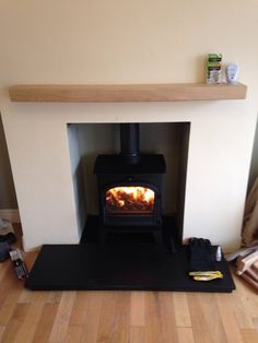 The newly installed Cleanburn Lovenholm. A wonderful multifuel stove that both looks amazing and has a huge output!