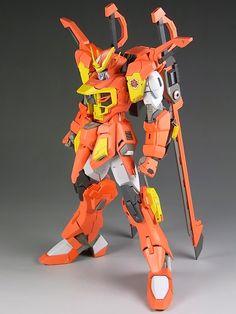 HG 1/144 Sword Calamity Gundam Custom Build - Gundam Kits Collection News and Reviews