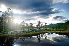 Scandinavian Landscapes on Behance