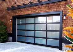 Exciting Amarr Garage Doors For Inspiring Large Door Ideas: Appealing Amarr Garage Doors With Wood Siding And Wall Sconces Plus Cozy Belgard Pavers
