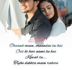 Nayan Ne Bandh Rakhine Lyrics: A Gujarati-Hindi fusion song sung and composed by Darshan Raval while lyrics are penned by Manhar Udas and AM Turaz. Lyrics Deep, Romantic Song Lyrics, Love Songs Lyrics, Beautiful Lyrics, Song Lyric Quotes, Me Too Lyrics, Romantic Love Quotes, Music Lyrics, Beautiful Poetry
