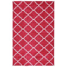 Fancy Trellis Hot Pink Rug (5' x 8')   Overstock.com Shopping - Great Deals on Mohawk Home 5x8 - 6x9 Rugs