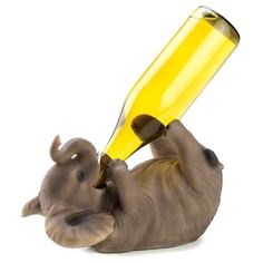 Cute wine bottle holder!    Via Amazon http://www.amazon.com/Gifts-Decor-Playful-Elephant-Decorative/dp/B008YQ49FO/ref=sr_1_24?m=ATVPDKIKX0DER=home-garden=UTF8=1351186593=1-24