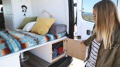 Van Life: Diy Mercedes Sprinter Van Conversion Tour