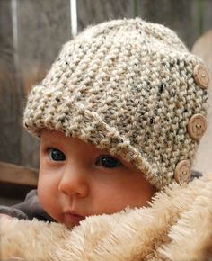 """Ravelry - Poppy Baby Cloche pattern by Heidi May - All her """" Velvet Acorn"""" pieces are amazing, what a talent! Knitting For Kids, Knitting Projects, Baby Knitting, Crochet Projects, Velvet Acorn, Baby Patterns, Knitting Patterns, Crochet Patterns, Knit Or Crochet"""
