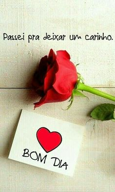 Mensagens de Bom Dia Good Morning Messages, Good Morning Good Night, Love Messages, Bedroom Crafts, Qoutes About Love, Amazing Quotes, Art For Kids, Place Card Holders, Inspirational Quotes