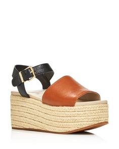 c064f192169 Kenneth Cole Women s Indra Leather Platform Wedge Espadrille Sandals Shoes  - Bloomingdale s