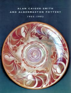 Alan Caiger-Smith and Aldermaston Pottery Art Pottery. This book describes the development of Alan Caiger-Smith and his work at Aldermaston Pottery from Includes a list of decorators, potters and their marks. Craig Smith, Personalized Books, Books To Buy, Antique Books, Pottery Art, Old And New, Book Art, Stoneware, Art Decor