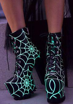 Current Mood Terror Glow Boots