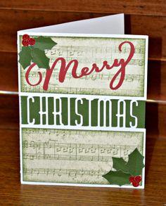 Stamp Scrap Fever!: Sneak Peek at Christmas Cards!