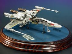 "Star Wars Masterpiece: 1/72 Fine Molds ""Captured"" X-Wing Fighter"