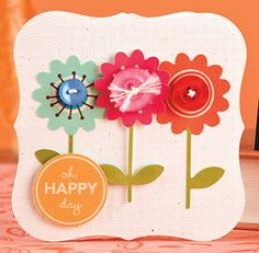 Bloomin' Day Card by Chan Vuong