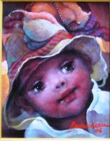 Buy now this original painting by the surrealist Haitian artist Lyonel Laurenceau Enfant d'Haiti Acrylic on Canvas at www. Haitian Art, Caribbean Art, Art For Sale Online, Beautiful Paintings, Creative Art, Flow, Original Paintings, Art Gallery, Canvas