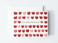 You're The Best Teacher Ever Greeting Card