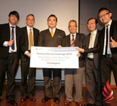 UCSI University Duo Bag Top Award Aspiring Studios took the plaudits by emerging as champions in the National BizVid Challenge 2011/2012 Finals that was held at UCSI University. Comprising UCSI University students Sunny Chong Yee Ping and Emest John Lee Xian Zheng, the team delighted the home crowd by besting four other finalists in the multi-tiered competition that required participating teams to produce a two to three-minute viral video that promoted Canon products for the Finals. Viral Videos, Canon Products, Finals, Crowd, Hold On, Competition, Studios, Singing, University