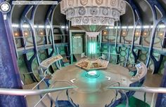 The Street View TARDIS (Google). Inside the Tardis with Google street view! How terrific! Must pin for later!
